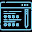 Icon programme CFJ bleu droit